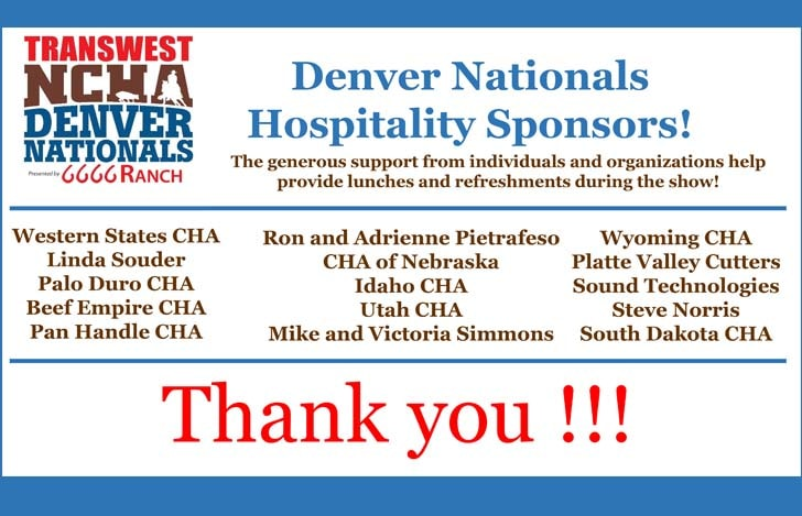 Denver Lunch Sponsors